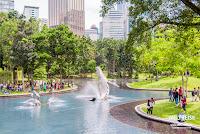 Simfoni Lake, KLCC Park, Kuala Lumpur, Malaysia.