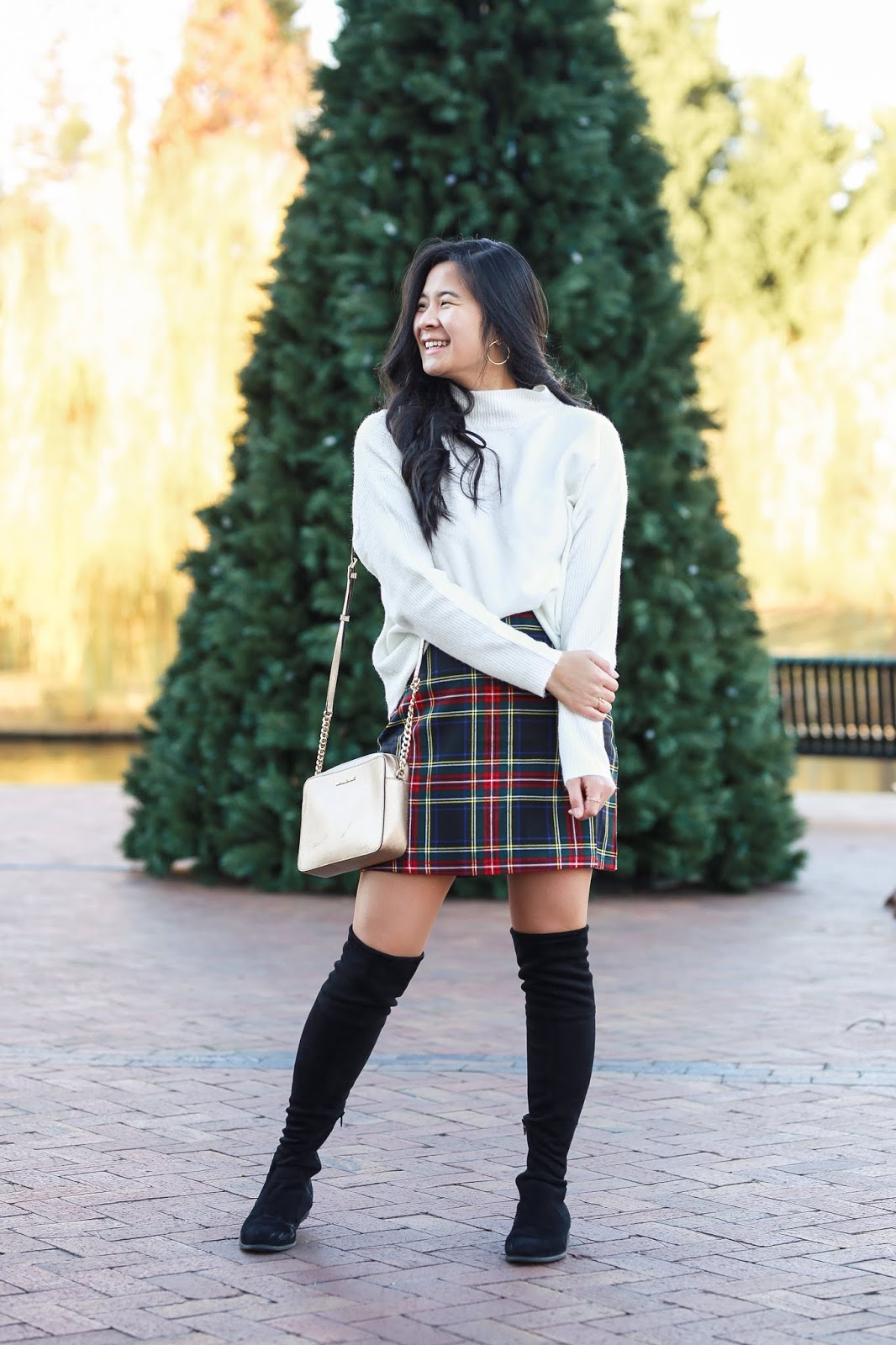 Holiday Plaid outfit idea