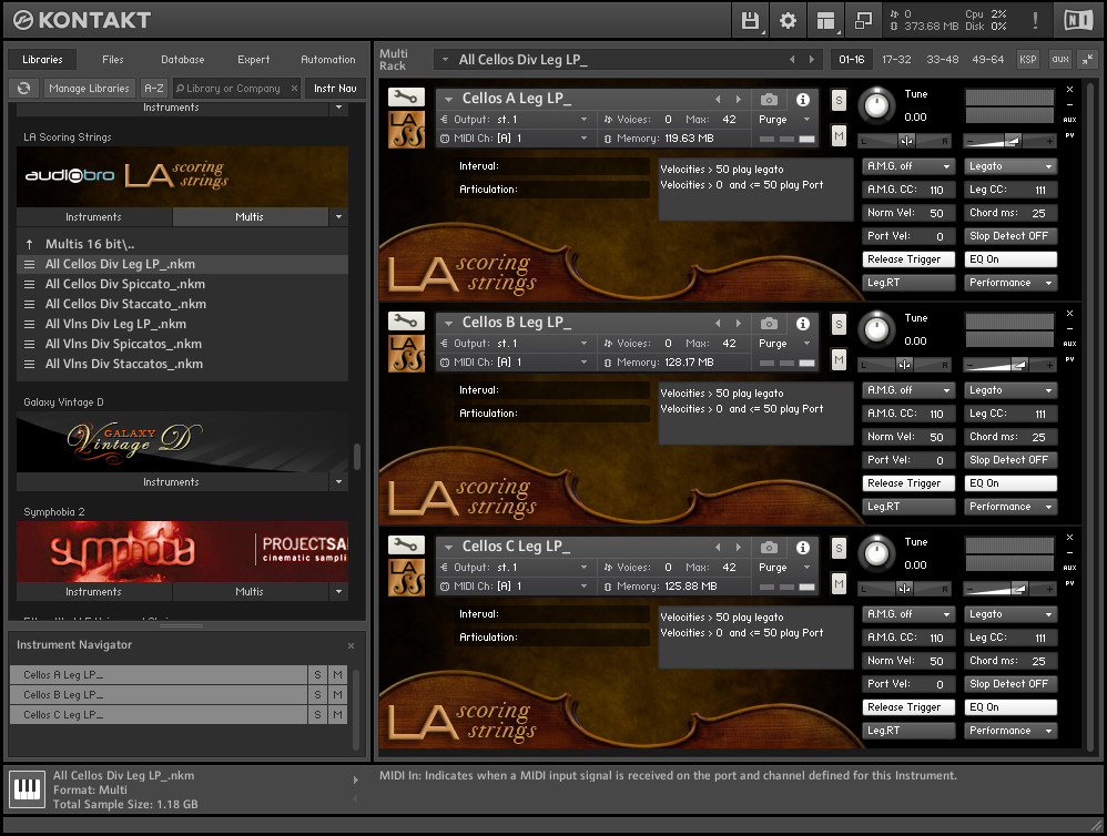 Audiobro - LA Scoring Strings KONTAKT Library free download