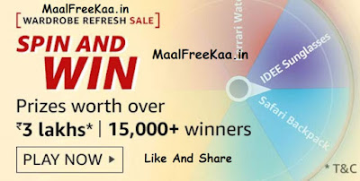 Wardrobe Refresh Sale Spin & win