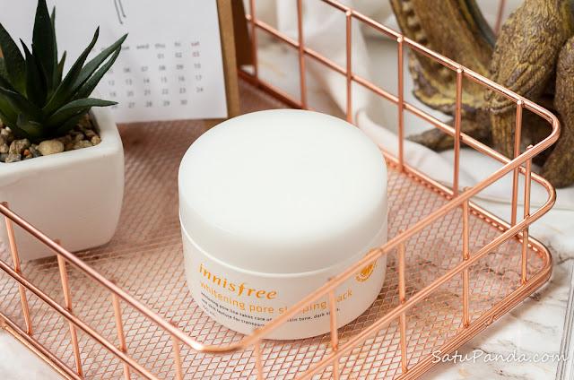 innisfree Whitening Pore Sleeping Pack отзыв