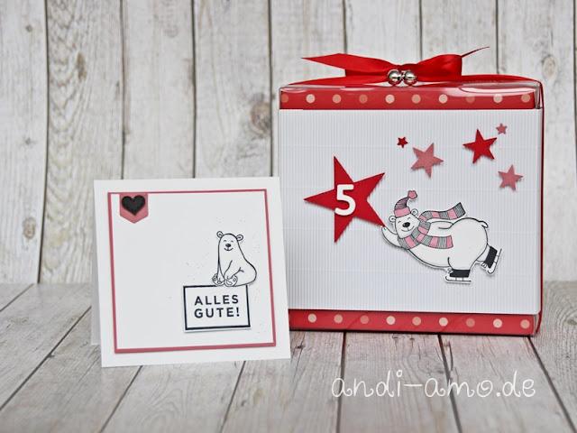 Stampin Up Warm & Toasty Karte und Geschenk