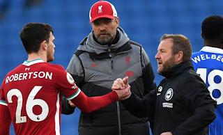 Liverpool boss Jurgen Klopp says his contract isn't on his mind.