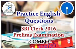"SBI Clerk Prelims 2016- Practice Aptitude Questions ""COMBO"": Dear Readers, Important Practice Aptitude Questions with explanation for Upcoming SBI Clerk Prelims Exams was given here as COMBO, candidates those who are preparing for those exams can use this practice questions."