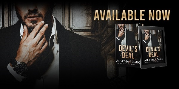 Devil's Deal by Aleatha Romig Available Now.