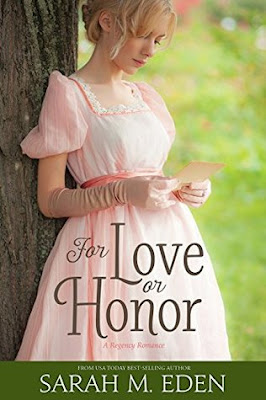 Heidi Reads... For Love or Honor by Sarah M. Eden