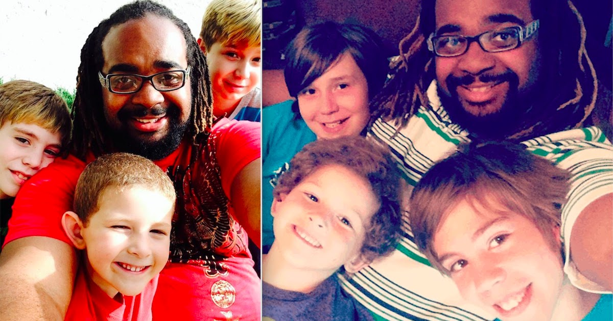 20-Year-Old Single Man Who Grew Up In Foster Care Adopts 3 Boys