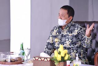 Gubernur Arinal Terima Kunjungan Dirjen Bina Pemerintahan Desa Kemendagri dalam Rangka Persiapan Pilkades/Pilkakon Tahun 2021