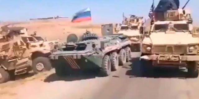 Militer AS hadang konvoi Rusia