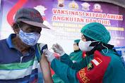 Rangkul Driver Ojol Dan Sopir Angkot, Ditlantas Jateng Gelar Vaksinasi Massal