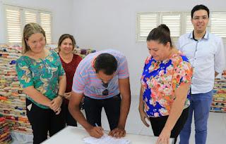 Banco de alimentos de Picuí recebe doação da empresa correia promoções