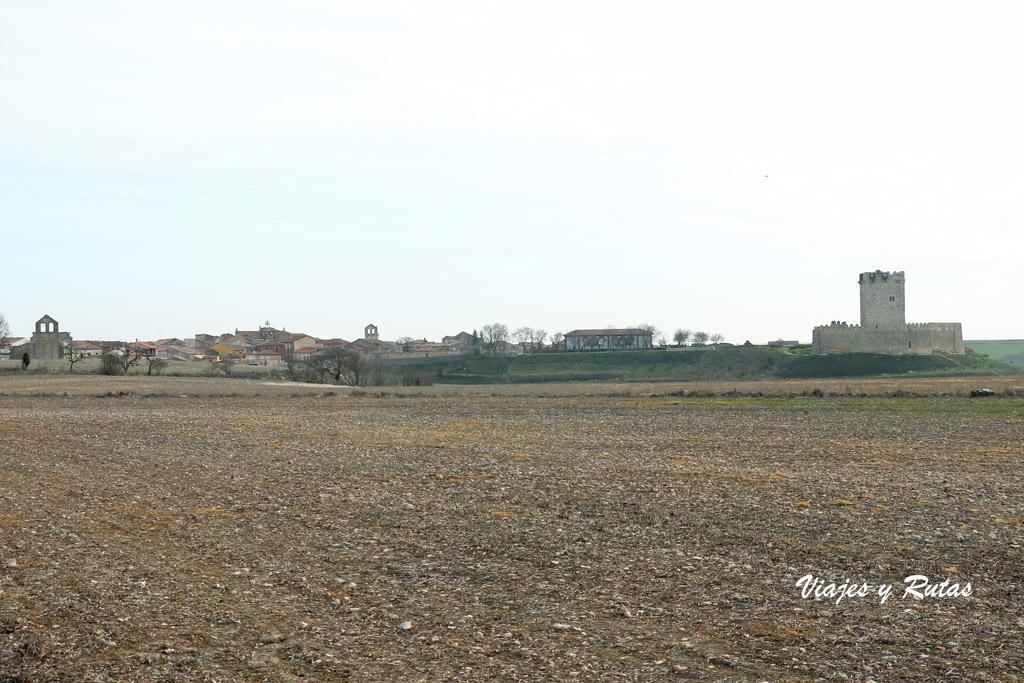 Vista general de Tiedra, Valladolid