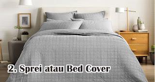Sprei atau Bed Cover Untuk Hadiah Pernikahan Temanmu Yang Baru Menikah