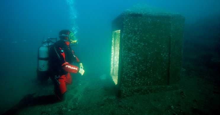 Heracleion Şehri, Antik Mısır zamanından kalma kalıntıların bulundu bir yerdir.