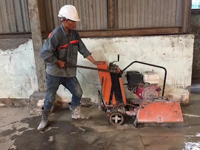 Khoan cắt bê tông tại huyện Thanh Bình