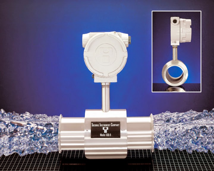 sanitary ultrapure flow meter