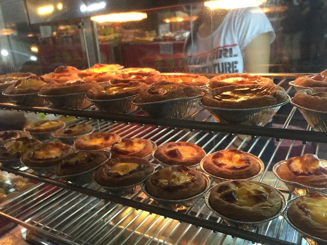 Malacca Jonker Street Night Market - Egg Tarts
