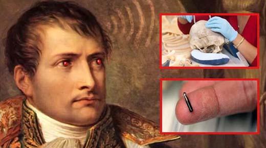 Científico afirma haber encontrado un microchip extraterrestre en el cráneo de Napoleón Bonaparte