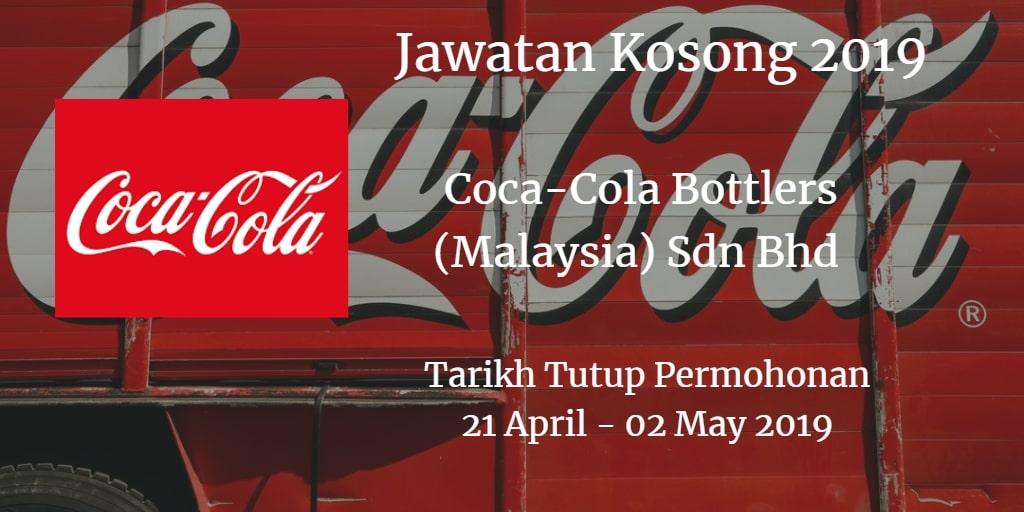Jawatan KosongCoca-Cola Bottlers (Malaysia) Sdn Bhd 21 April - 02 May 2019