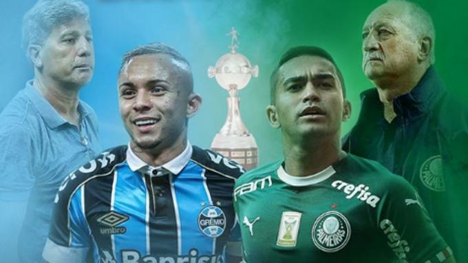 Assistir Grêmio x Palmeiras ao vivo pela Libertadores