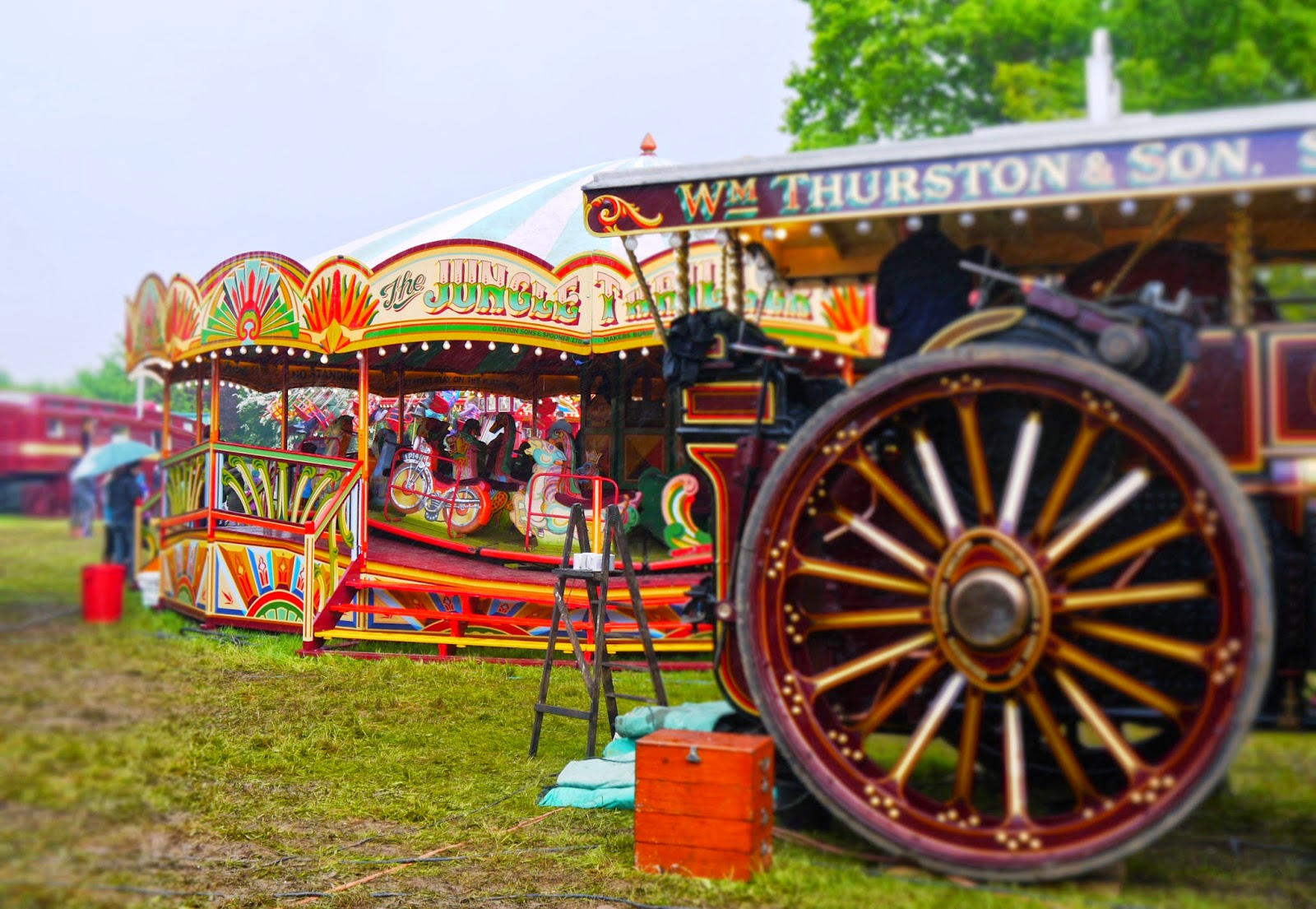 Carters Steam Fair at Pinkneys Green