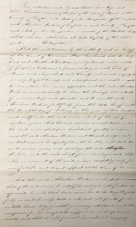 Deed of indenture, Marth Eastman, 1846