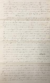 Deed of indenture, Marth Eastman, 1846