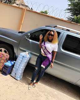 Video: How Tida Samuel A.K.A Miss Curvy Africa Entrepreneur 2019 Shared Love During Easter Period