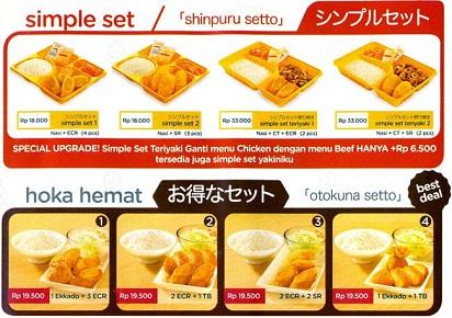 Daftar Harga Sajian Delivery Hoka Hoka Bento Terbaru Harga Menu Delivery Lengkap