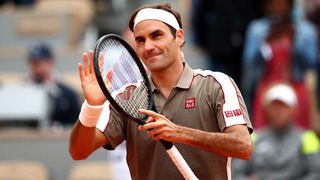 Keren ! Roger Federer Jadi Pelatih Tenis Kerajaan Inggris