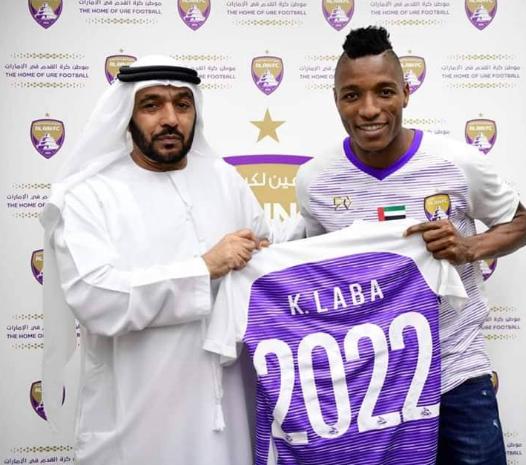 """هداف البطولة ونجم نهضة بركان """"لابا كودجو"""" ينتقل رسميا إلى الدوري الإماراتي"""