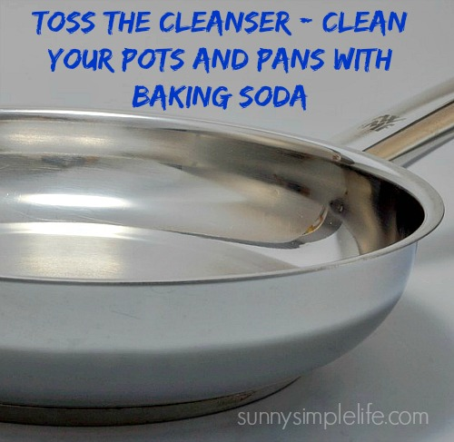 clean sparkling pan, cleaning tips