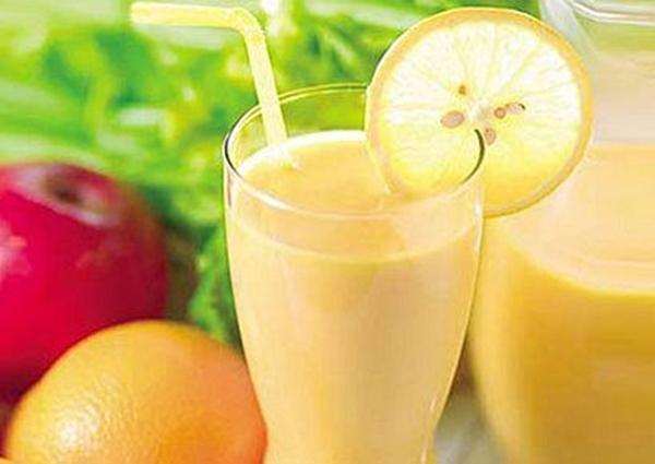 Batido de Naranjas y Limón