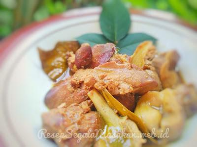 Resep Masak Hati Ampela Ayam Bumbu Kuning