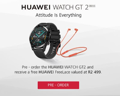 @HuaweiZA to Unveil its Next Generation #Smartwatch #HuaweiWatchGT2