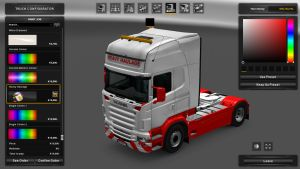 Heavy Haulage Skin for Scania RJL