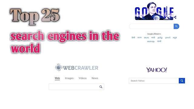 Top 25 Search Engines in the world - Techpassionworld.com