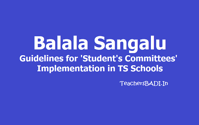 Balala Sangalu: Guidelines for Student's Committees Implementation in TS Schools