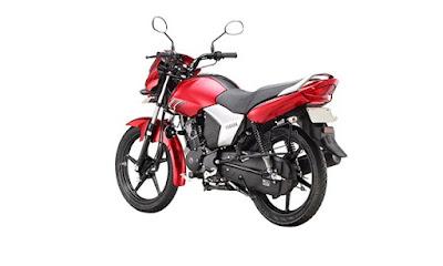 Yamaha Saluto 125cc Red