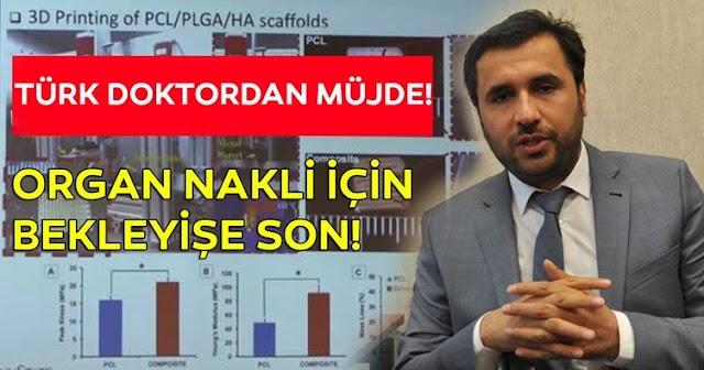 3B Biyoyazıcılarla Organ Basımı Yapan Türk: Sn. ÖZBOLAT