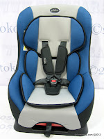 1 Baby Car Seat PLIKO PK302 with Extra Seat Pad; Forward-facing Position: 9 kg to 18 kg