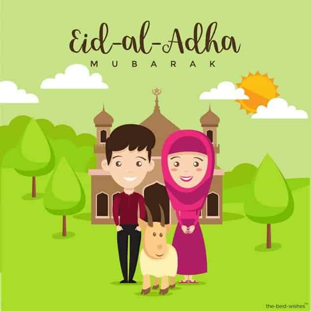 eid wishes for family