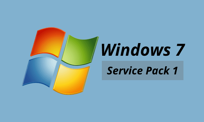 Download dan install SP1 Windows 7