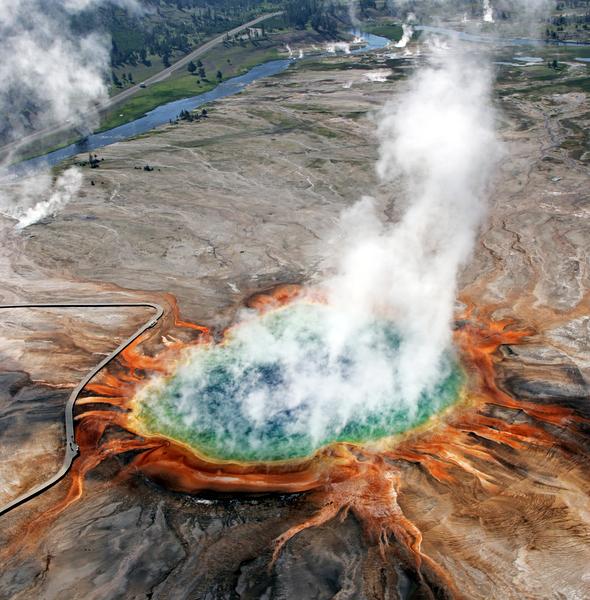Gran Fuente Prismática (Yellowstone, Estados Unidos)
