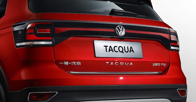 Volkswagen Tacqua lançado oficialmente na China
