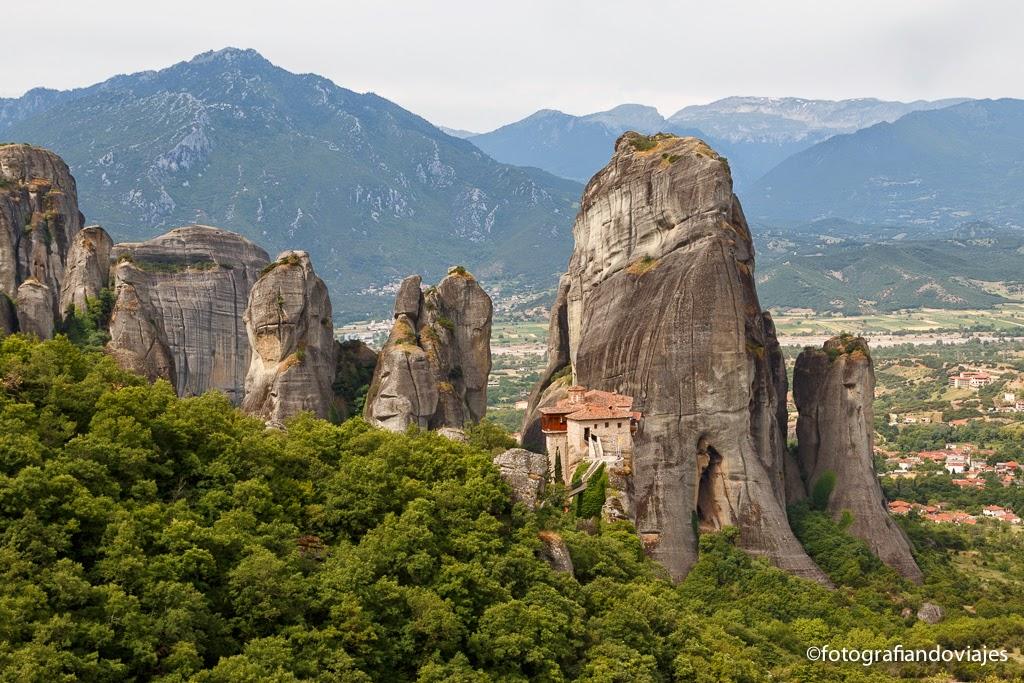 Monasterio Meteora  Roussanou