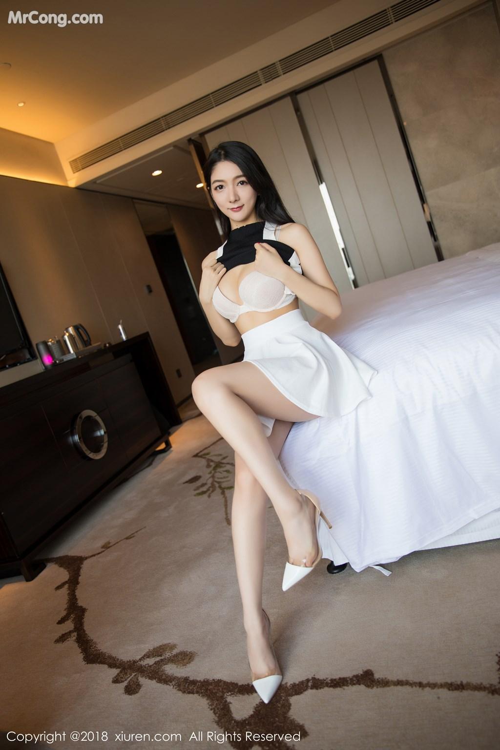 Image XIUREN-No.1175-Xiao-Reba-Angela-MrCong.com-004 in post XIUREN No.1175: Người mẫu Xiao Reba (Angela小热巴) (55 ảnh)