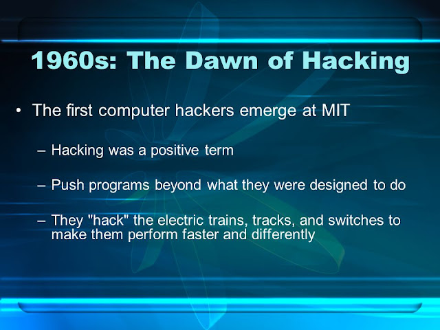 History of Hacking