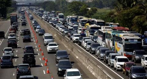 47 Ribu Kendaraan Tinggalkan Jakarta