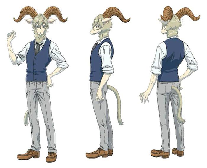 Beastars anime - Temporada 2 - Pina